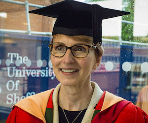 University of Sheffield Helen Sharman