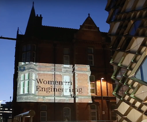 Wall of Women at The University of Sheffield