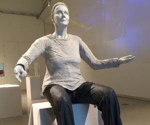 Sculpture at University of Sheffield highlights womens voices