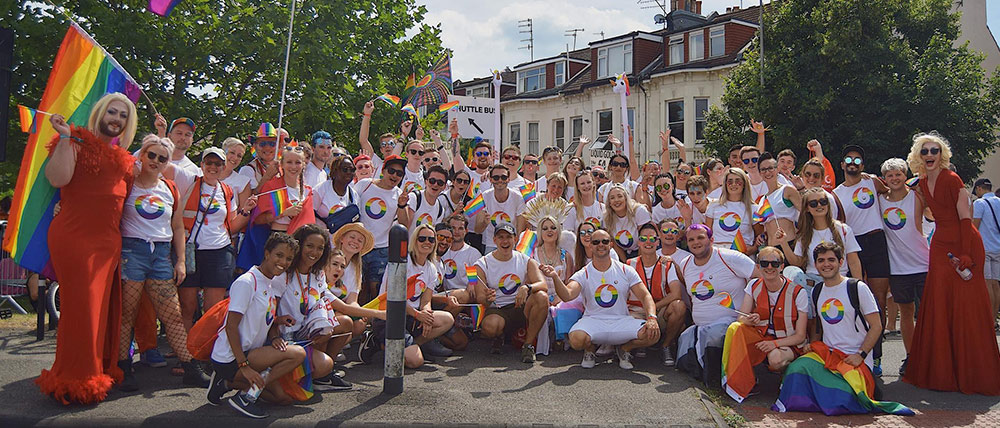 Vofafone named a top employer for LGBT+ inclusion