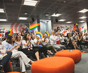 Vodafone HR intern Rachel Ward attends Global PRIDE Webinar