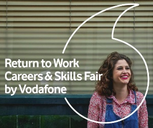 Vodafone hosts Return to Work Careers & Skills Fair at new Hub