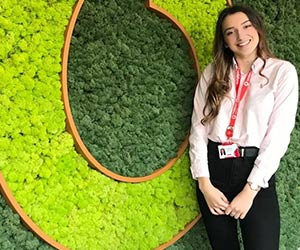 Dessi is a Technical Sales Apprentice at Vodafone