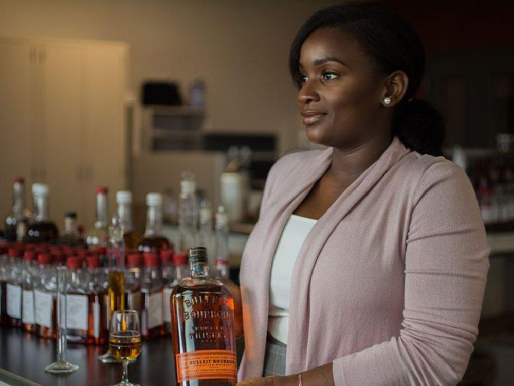 Meet Eboni, a Bulleit Frontier Whiskey Blender at Diageo