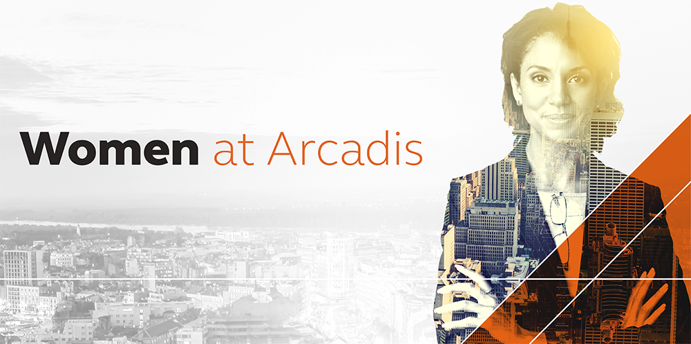 Join the women at Arcadis thoroughly enjoying their careers