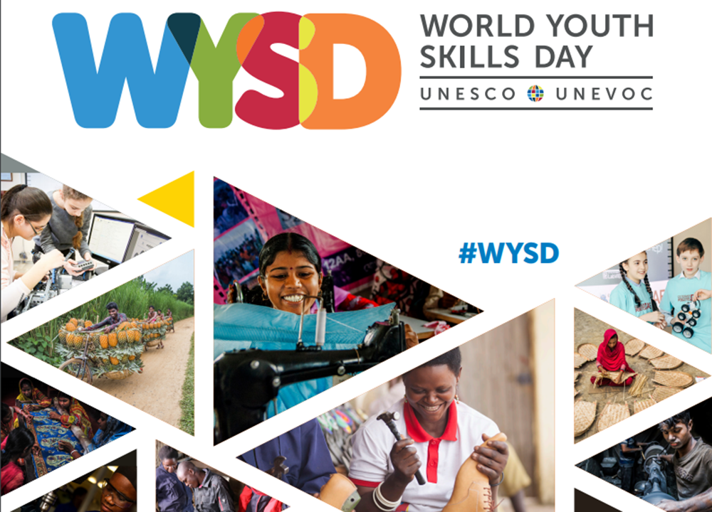 World Youth Skills Day reinforces the importance of training