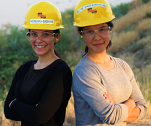 AECOM supports exciting future of two engineering sisters