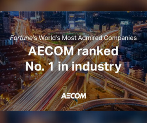 AECOM leads in Worlds Most Admired Companies industry list