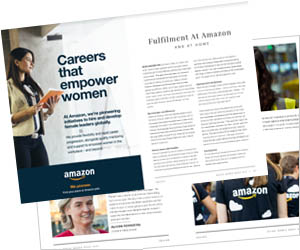 Amazon women thrive in their careers