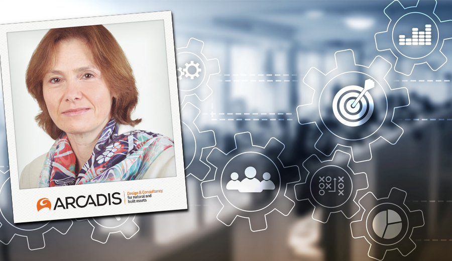 Arcadis Sarah Kuijlaars speaks at Global Female Leaders summit