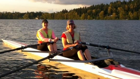 Making waves through marketing and rowing