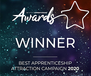 Capgemini wins award for Best Apprentice Attraction Campaign