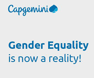 Gender equality is now a reality Capgemini