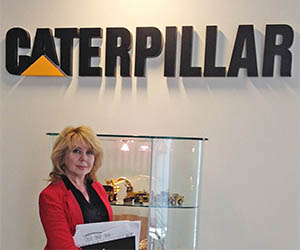 Leyla works as an interpreter for Caterpillar in Russia