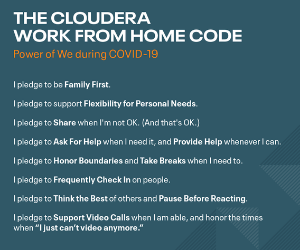 Cloudera actively supports and invests in its employees