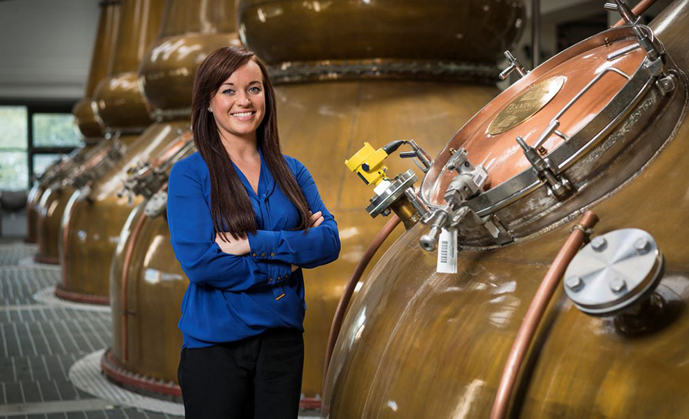 Diageo Manager celebrated as impressive woman in business