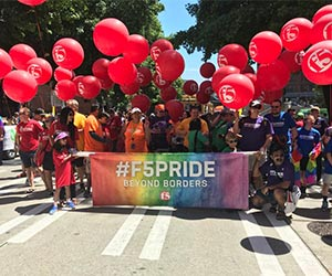 F5 funds GSBA scholarship for LGBTQ people and allies