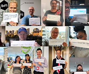 F5 Networks employees pledge support for local causes