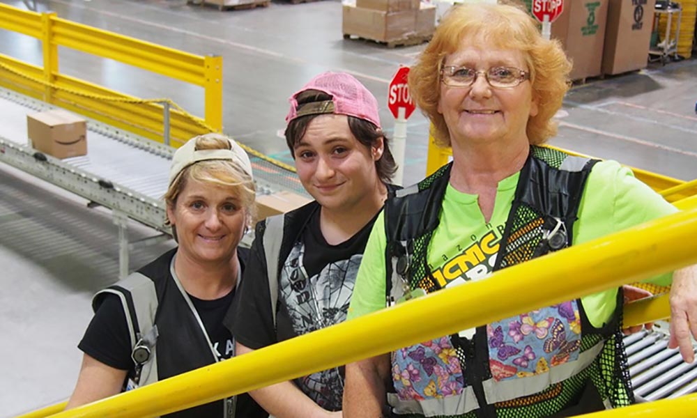 Three generations of great women hired at Amazon