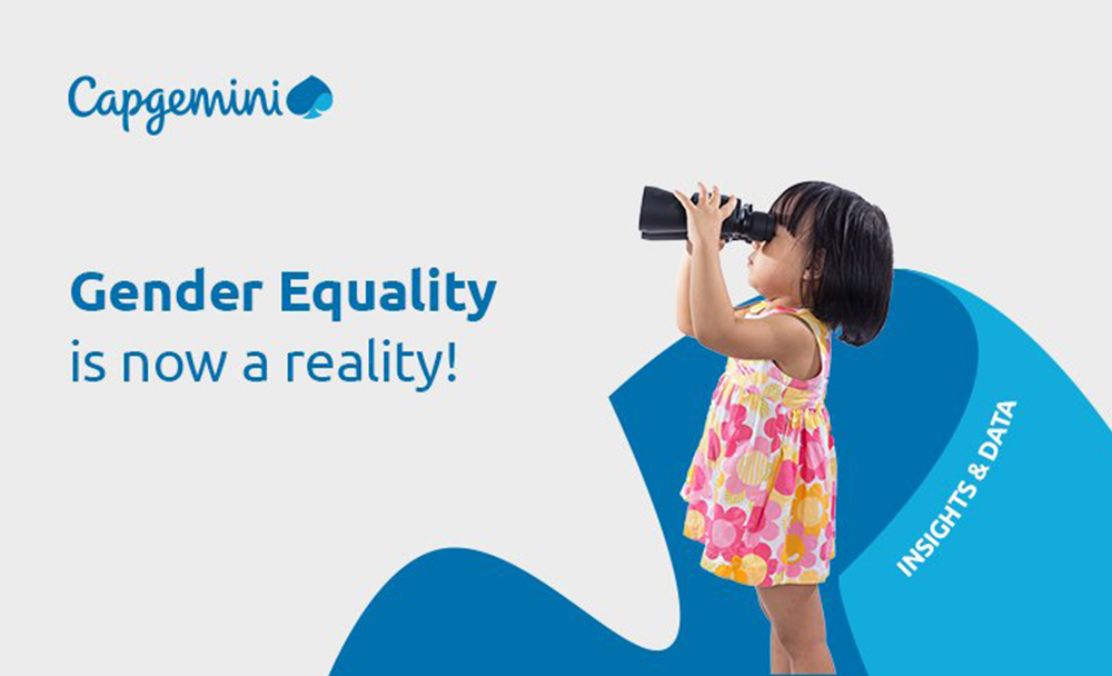 Capgemini initiatives ensure gender equality is a reality