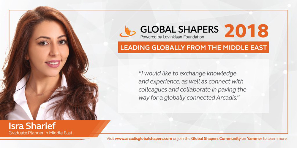 Isra Sharief shares her vision for a globally connected Arcadis