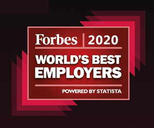 HCL ranks highly on the Forbes Worlds Best Employers list