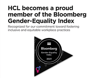 HCL celebrates inclusion in Bloomberg Gender-Equality Index
