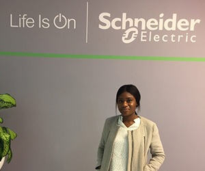 Spending the day with Schneider Electric Intern Karen Nsualu