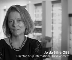 Jo da Silva is a woman engineer at Arup