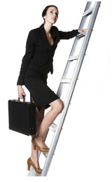 Seven qualities for climbing the corporate ladder