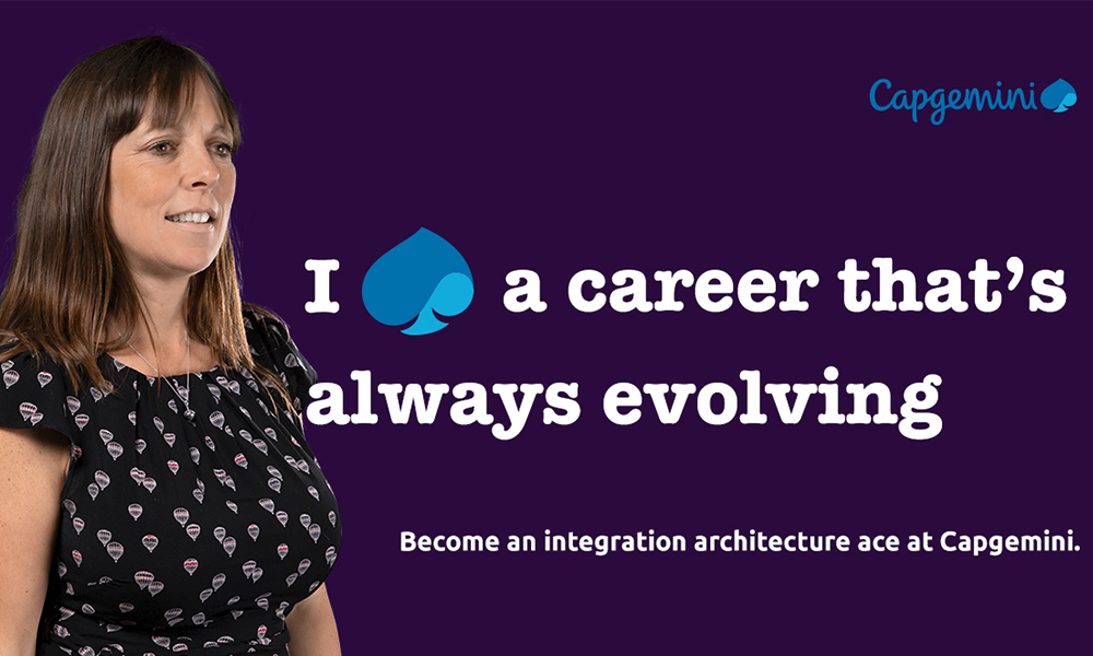 Lisa Eckersley is in control of her career at Capgemini