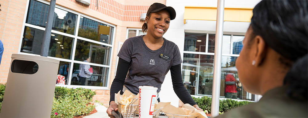 Impressive women in leadership at McDonalds