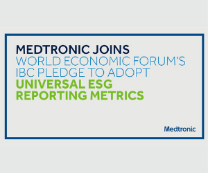 Medtronic pledges adoption of universal ESG reporting metrics