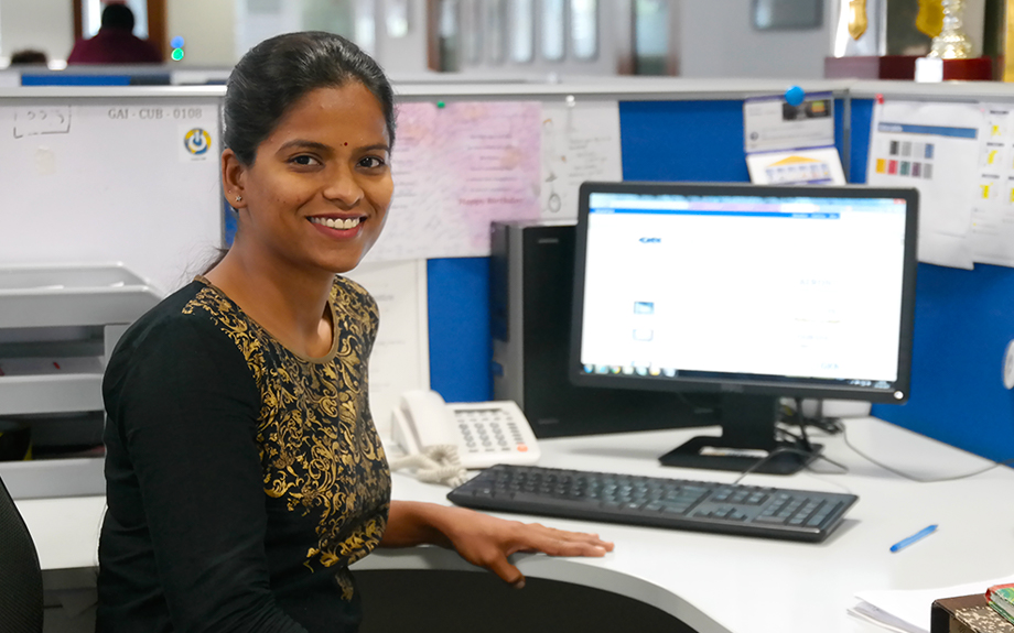 Meet Megha Gunti at GKN Aerospace