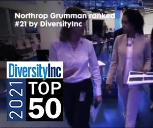 Northrop Grumman is among the Top 50 Companies for Diversity