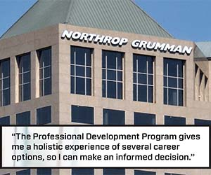 Graduate careers with Northrop Grumman