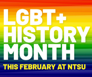 Nottingham Trent University celebrates LGBT+ History Month