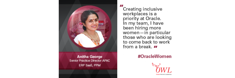 Career 2.0: Bringing women back to Oracle