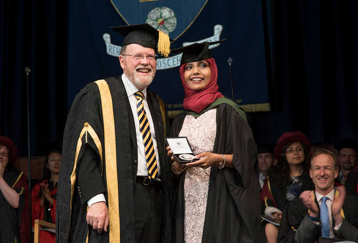 University of Sheffield honours outstanding bio engineer