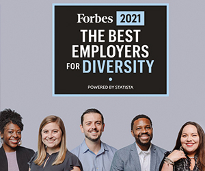 Forbes recognizes Schneider Electric as a leader for diversity