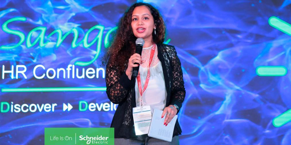 Flexible working at Schneider Electric certainly suits Pooja Shirali