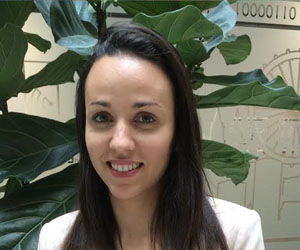Silvia Prieto enjoys working at Schneider Electric