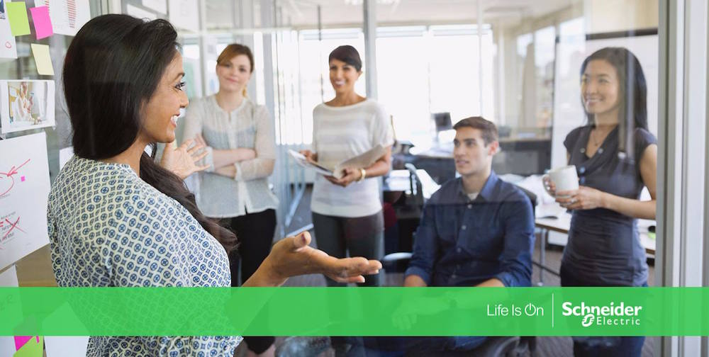 Schneider Electric stands up for gender equality on International Women's Day