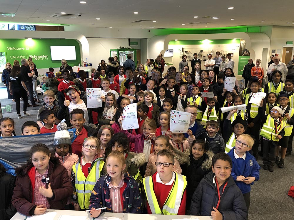 Schneider Electric and Primary Engineer inspire young innovators