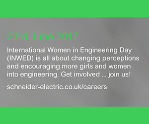 Schneider Electric supports Women in Engineering Day