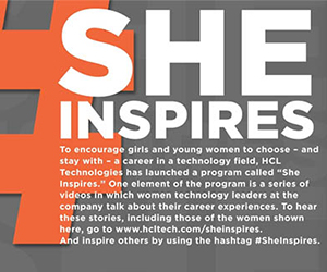 HCL Straight Talk magazine celebrates women in technology