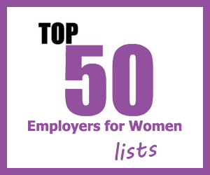 Top 50 Employers for Women lists