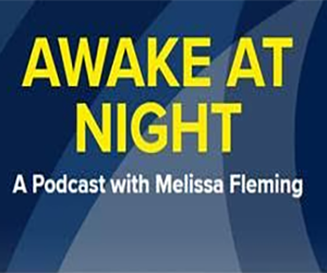 Melissa Fleming hosts UNHCR podcast series Awake at Night