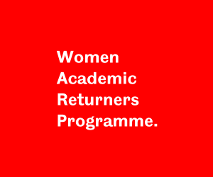 University of Sheffields Women Academic Returner Programme
