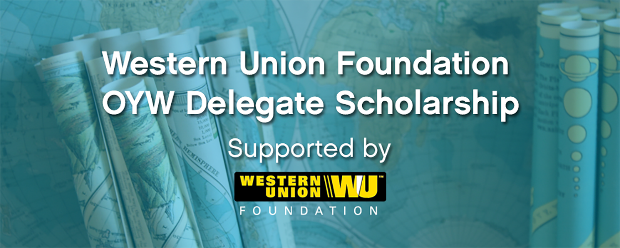 Western Union Foundation offers scholarship to young leaders